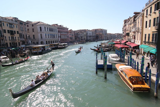 Photo 3 - Grand Canal from Rialto Bridge in Venice, Italy