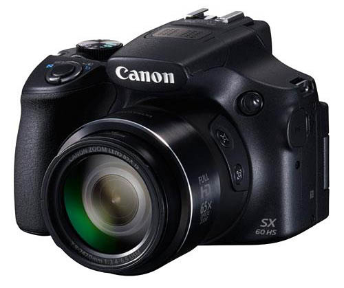 Pre-Order the New Canon PowerShot SX60 HS Digital Camera from Amazon