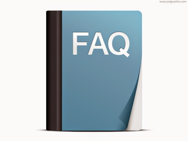 FAQ Icon PSD
