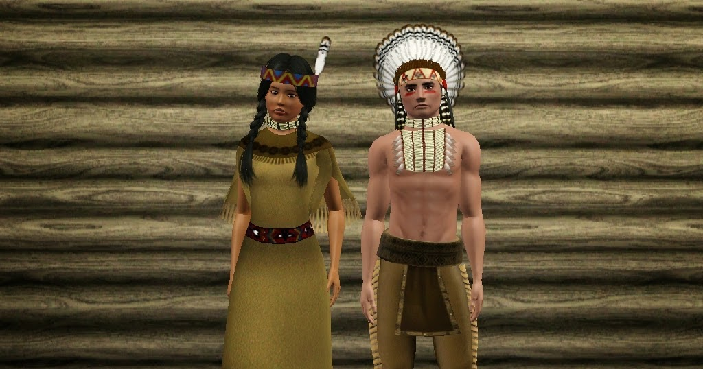 My Sims 3 Blog Native American Set By Sil Sharkie