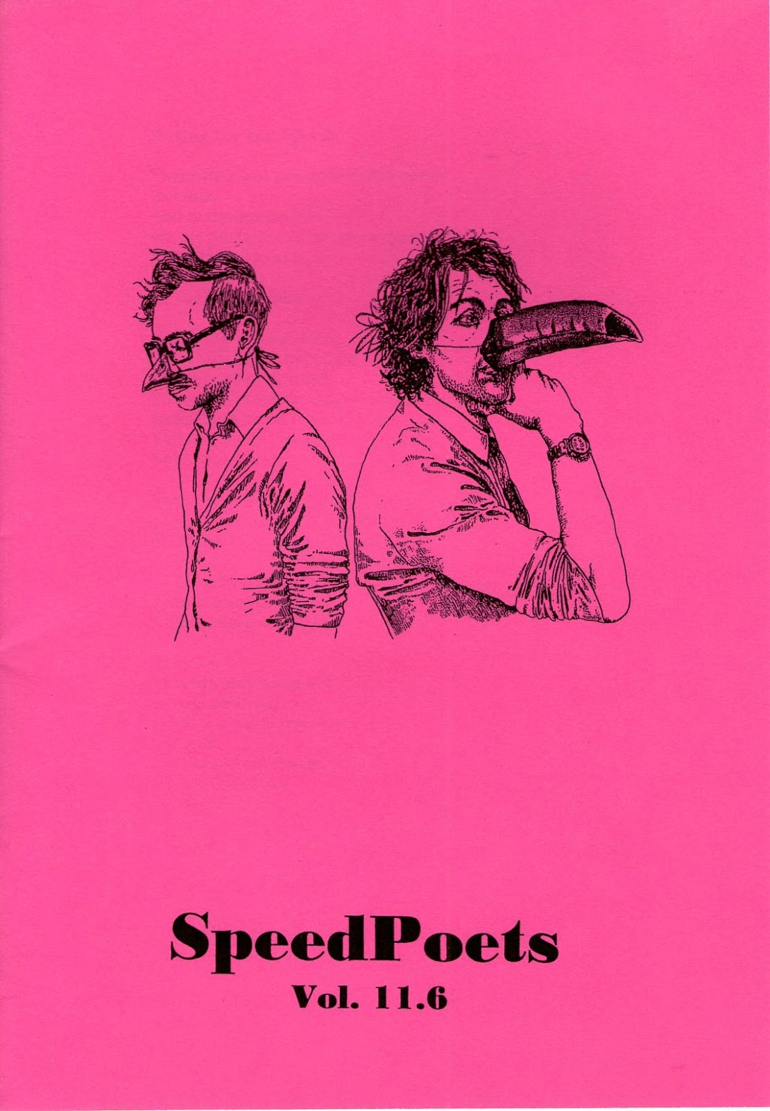 SpeedPoets zine cover