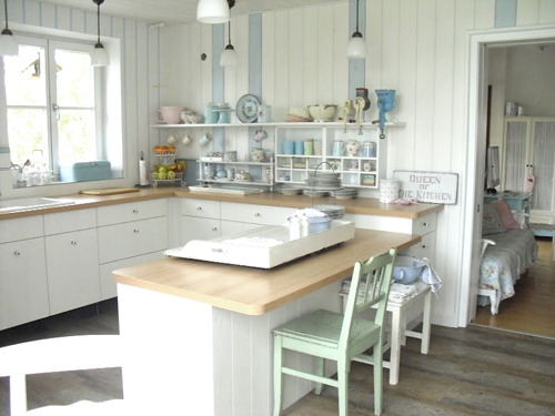 Punktchengluck Shabby Chic Kitchen Inspiration | Dream Homes ...