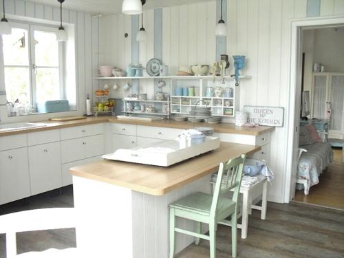 Punktchengluck Shabby Chic Kitchen Inspiration | Dream Homes ...