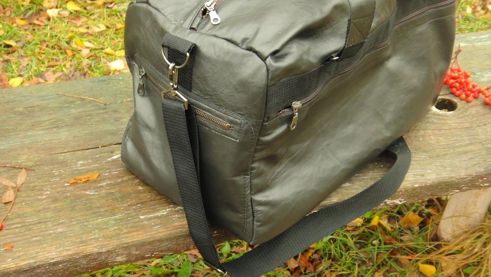 Спортивная сумка через плечо из черной кожи, сумка на ремне