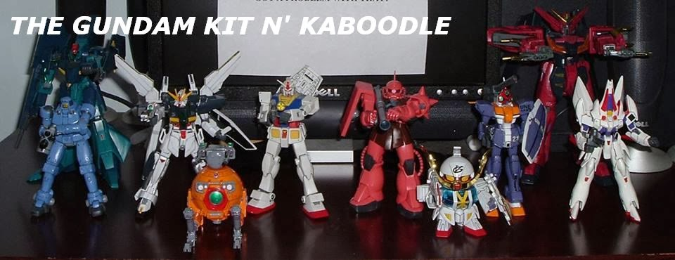 The Gundam Kit n' Kaboodle