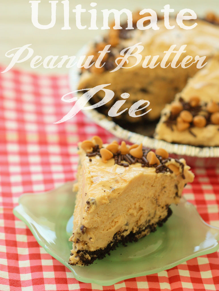 Half Baked: Ultimate Peanut Butter Pie