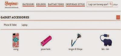Toko Online Aksesoris Gadget di shopious.com