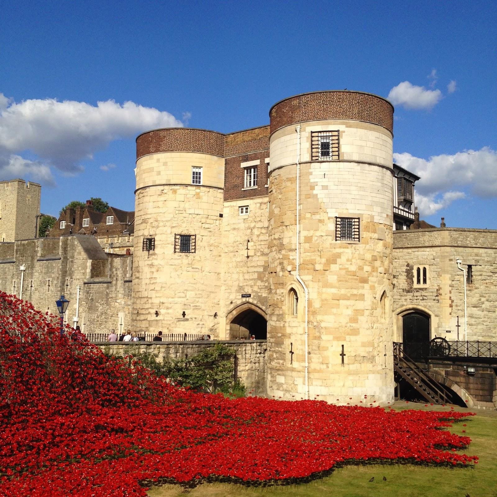 Poppies at the Tower of London (photo credit: http://researchandramblings.blogspot.com/)