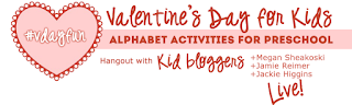 alphabet activities for preschool, G+ hangout, Valentines Day for kids, ready-set-read, image