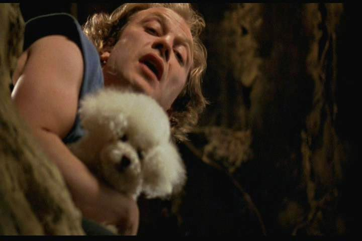 Buffalo Bill with dog