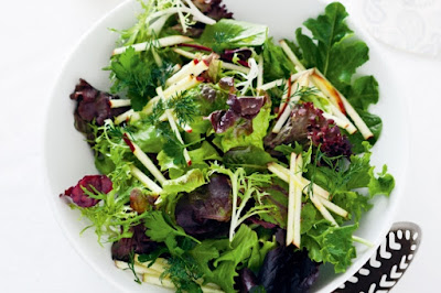 Lemony leaf salad Recipe