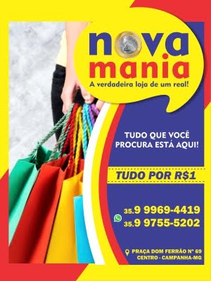 NOVA MANIA R$1