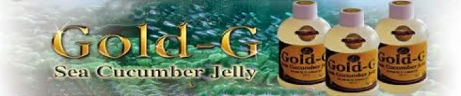Jelly Gamat Gold-G Sea Cucumber