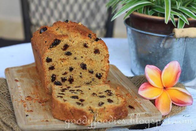 GoodyFoodies: Recipe: Cinnamon and Raisin Loaf