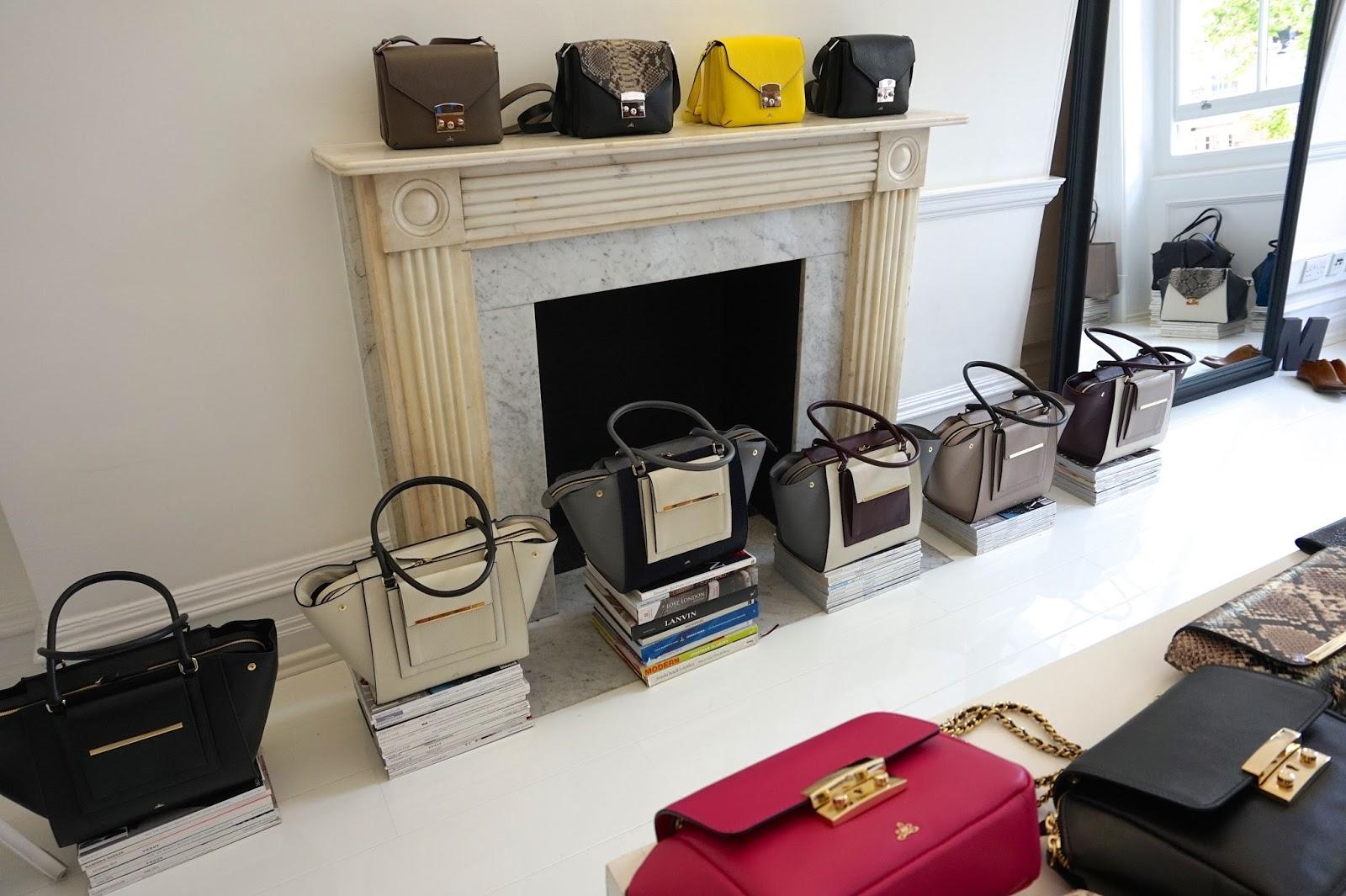 milli millu handbags event london