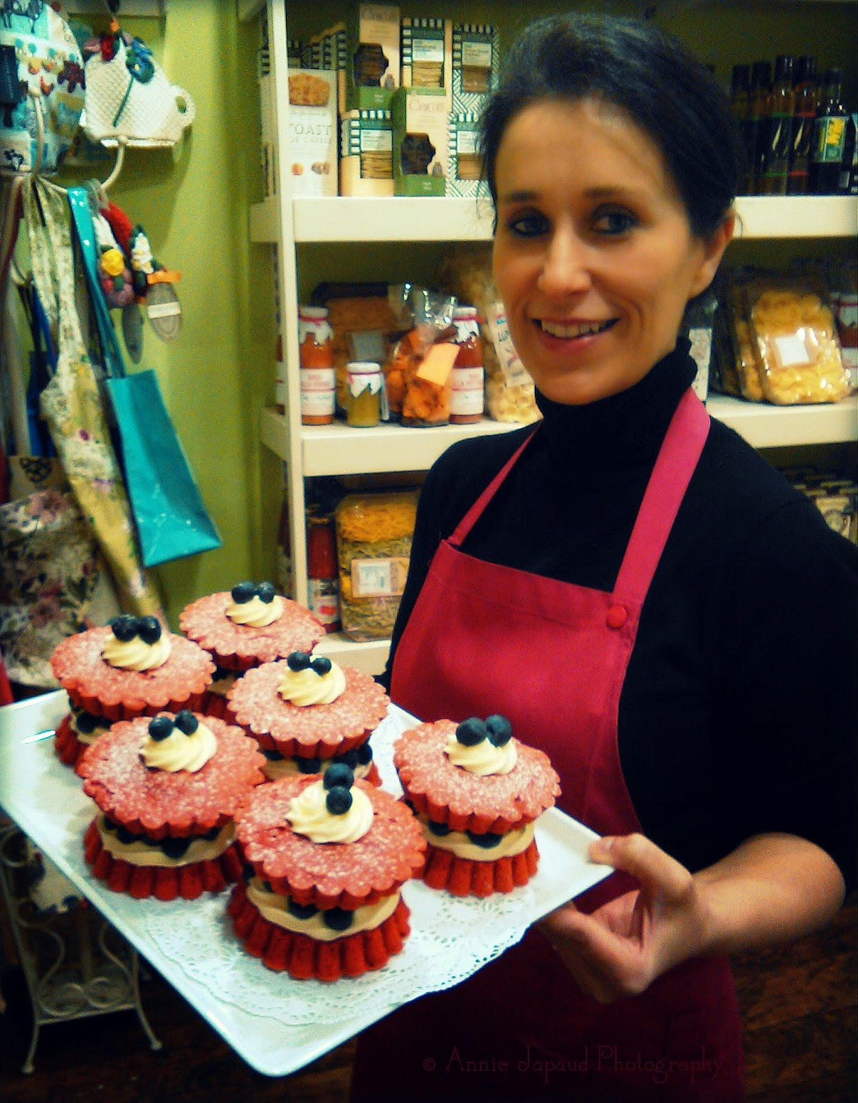 red velvet cakes from The White gables restaurant, Moycullen, Ireland