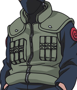The Big-Collar Vest Kakashi Hatake and other Jonin Vest