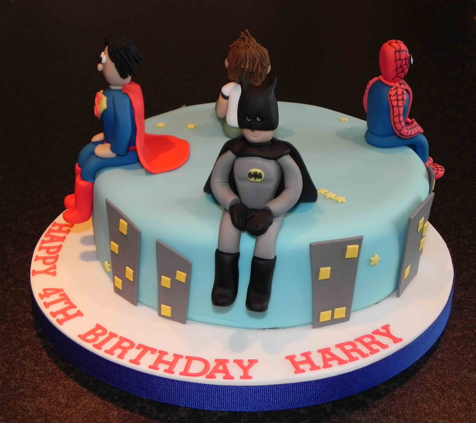 Themed Cakes, Birthday Cakes, Wedding Cakes: Super Heros Themed Cakes