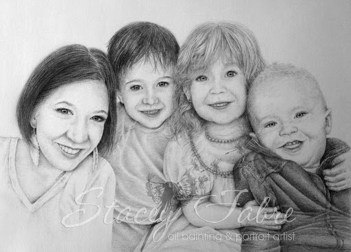 Portrait of Grandchildren
