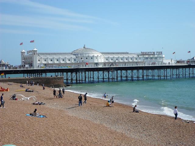 Brighton UK Beach seaside