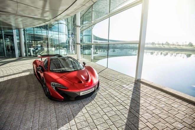 McLaren P1 Siêu xe  triệu USD màu độc