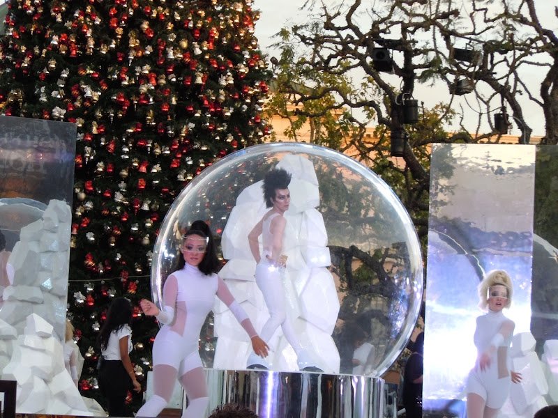 The Grove Mac Glitter and Ice skaters