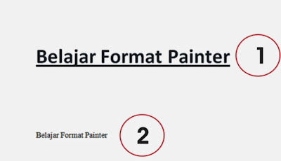format painter dalam microsoft word