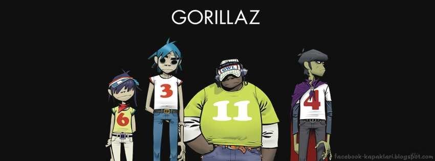 Gorillaz Facebook Kapak Resmi ~ Facebook Kapak Resimleri