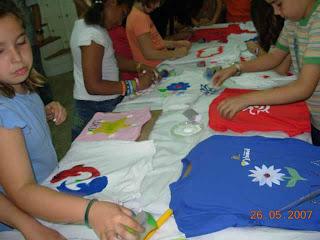 Padresfree pintar camisetas - Pintar camisetas ninos ...