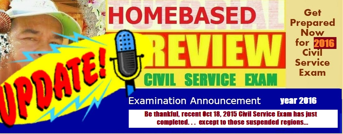 Homebase Civil Service Review 2016 Civil Service Exam SCHEDULE!