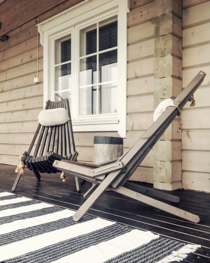 eco furn tuolit, terassituolit, black deck, terassin öljyäminen mustaksi