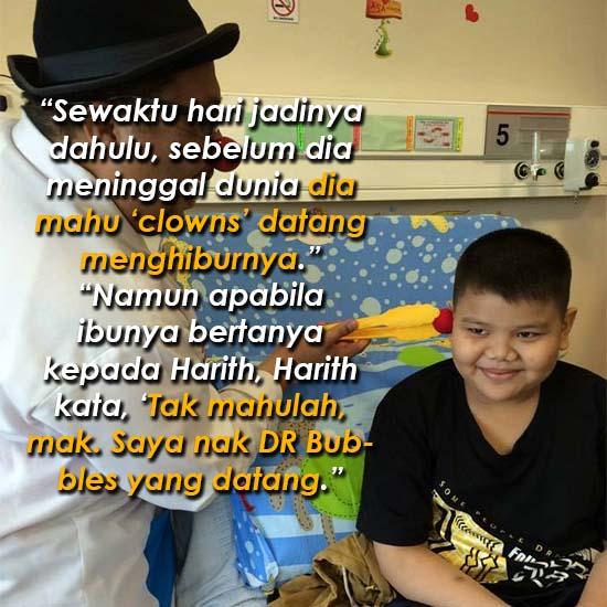 Kisah sayu dari seorang 'Doktor Badut'