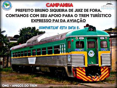 trem de passageiro