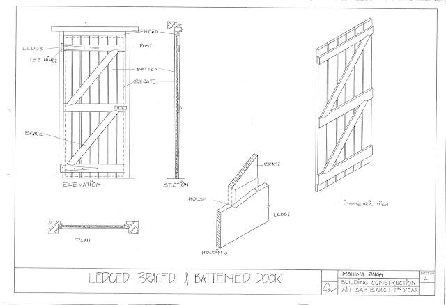 Architecture Portfolio(UG): Doors And Windows