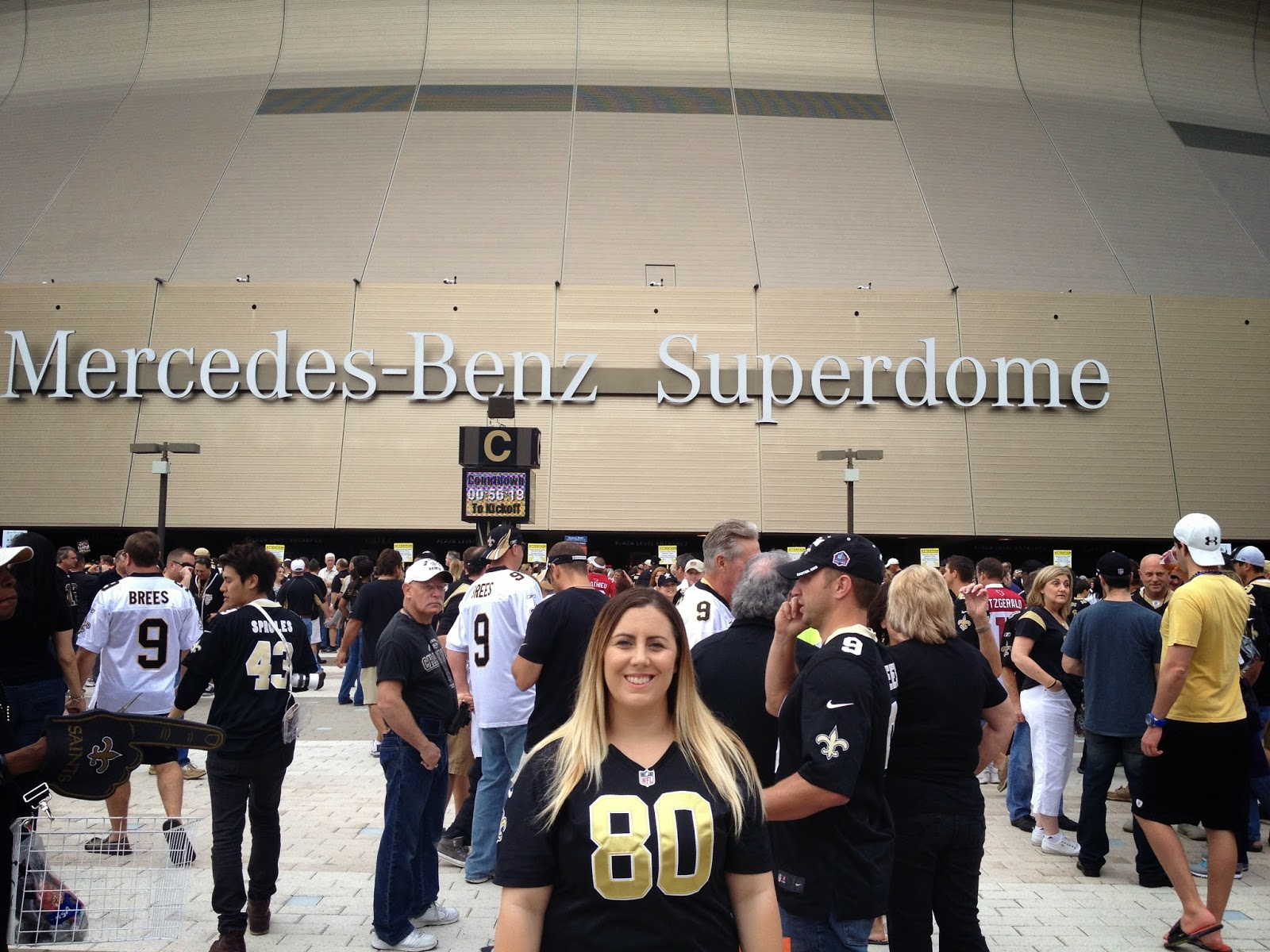 Superdome, Saints