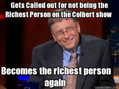 Bill Gates, richest person in the US, richest in the US, money