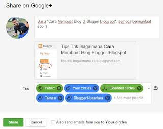 share google plus
