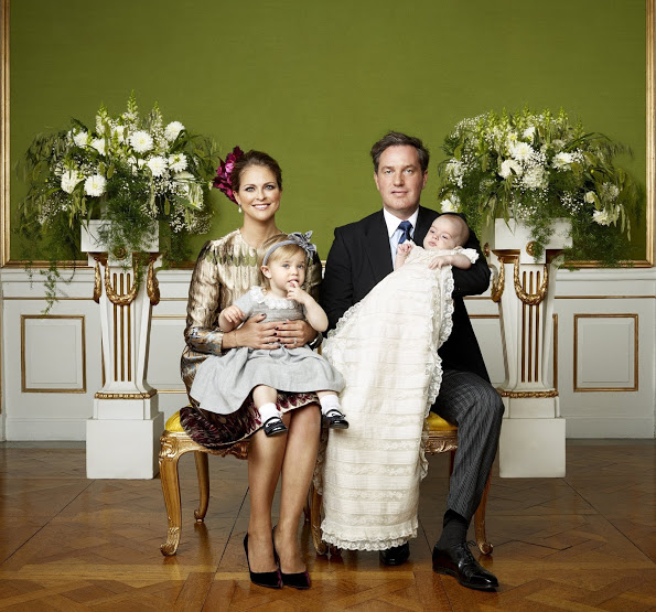 Prince Nicolas Of Sweden's Official Christening Photos Released