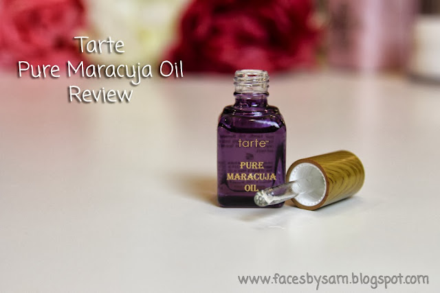 Tarte Pure Maracuja Oil Review