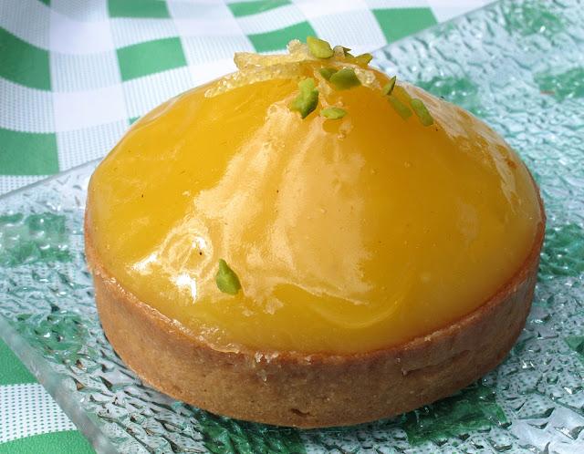 Pâtisserie La Petite Rose - Tarte au citron