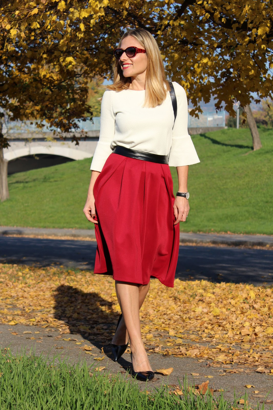 Eniwhere Fashion - Sammydress midi skirt