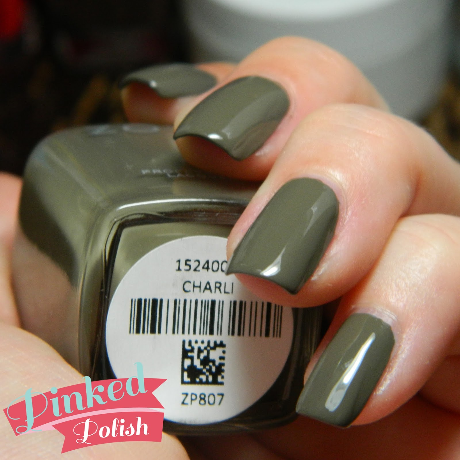 How To Make Olive Green Nail Polish: Pinked Polish: Zoya Focus Swatches And Review