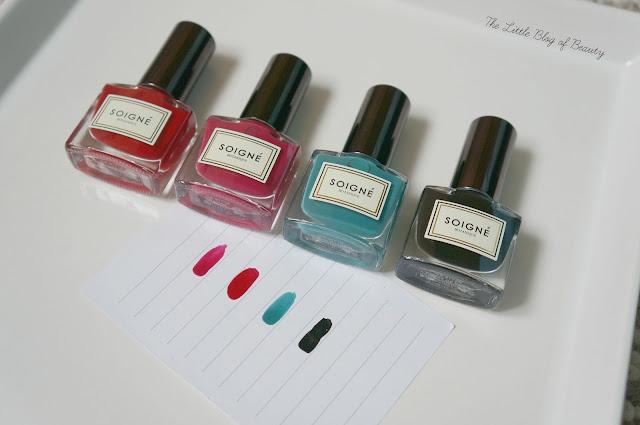 Soigné nail shades