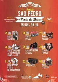 Porto de Mós(Leiria)- Festas São Pedro 2016- 25 Junho a 3 Julho