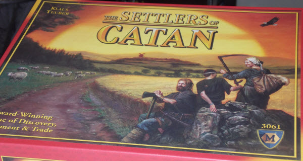Settlers of Catan boardgame review