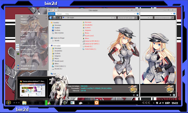 kancolle Bismark [ WINDOWS 8 ] 3