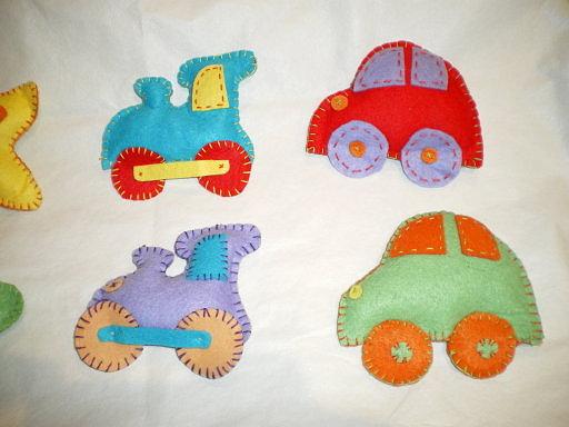 Fimodelia pajaritas materiales utilizados fieltro - Cositas para bebes manualidades ...