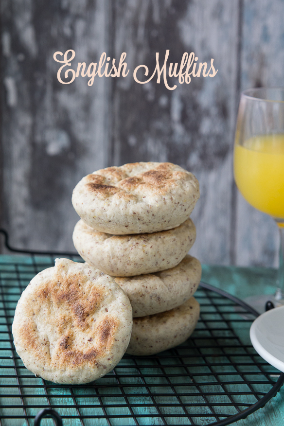 English Muffins - pancitos ingleses para el desayuno