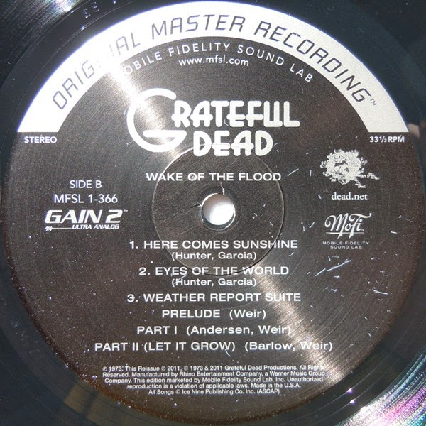Grateful Dead, The - Wake Of The Flood