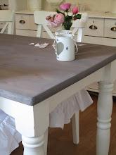 Makeover på kjøkkenbord
